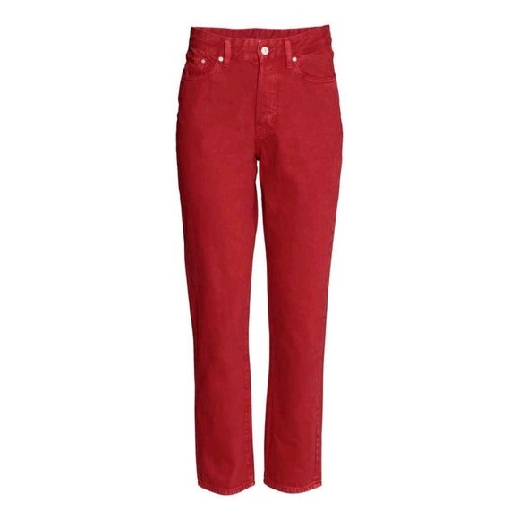 select for best 2019 hot sale provide plenty of H&M Red Vintage High Waisted Jeans